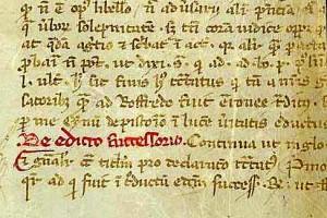 Letra gótica libraria