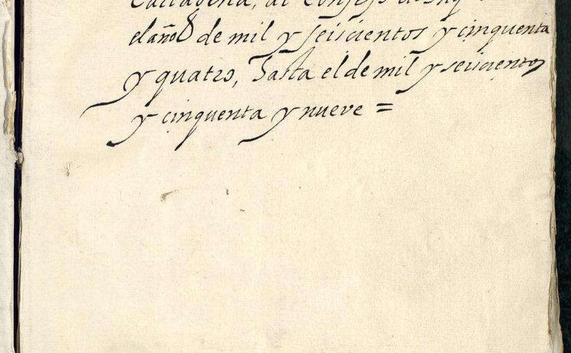 ¿Por qué no existen documentos del siglo XVII y XVIII en el archivo de la Inquisición de Cartagena de Indias? Por María Cristina Navarrete